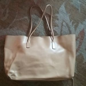Prada Beige Leather Tote with Wallet
